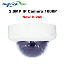 H.265 Video Surveillance 2MP IP Camera HI3516D 1/2.7 AR0237 Metal Material Mini Dome Camera DC 12V 48V PoE Version Optional XM