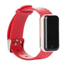 QS50 Bluetooth 4.0 Смарт Пульсометр Smartband SMS/Звонок Напомнить Спорт Браслет Часы Браслет для iOS Android