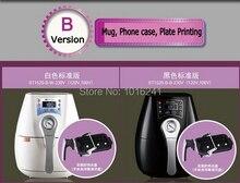2017 new 3D Mini Digital Sublimation Vacuum Heat Press Machine for Mugs, phone cases, plates Combo