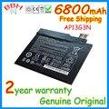 """Nueva original batería para acer iconia w3-810 w3-810p ap13g3n tablet 8 """"series 3.7 v 6800 mah 25wh"""