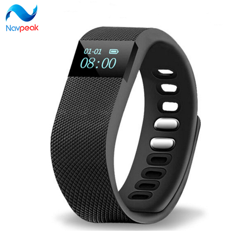 TW64 Silicone font b Smart b font Bracelet waterproof sports bracelet with Bluetooth Sports steps Remote