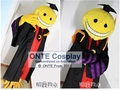 New Fashion Anime Assassination Classroom Cosplay Costume Women / Men Cos Clothes Korosensei Cloak with Accessories