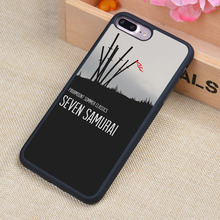 Seven Samurai Cartoon Printed Soft Rubber Mobile Phone Case OEM For iPhone 6 6S Plus 7 7 Plus 5 5S 5C SE 4 4S Back Cover Shell