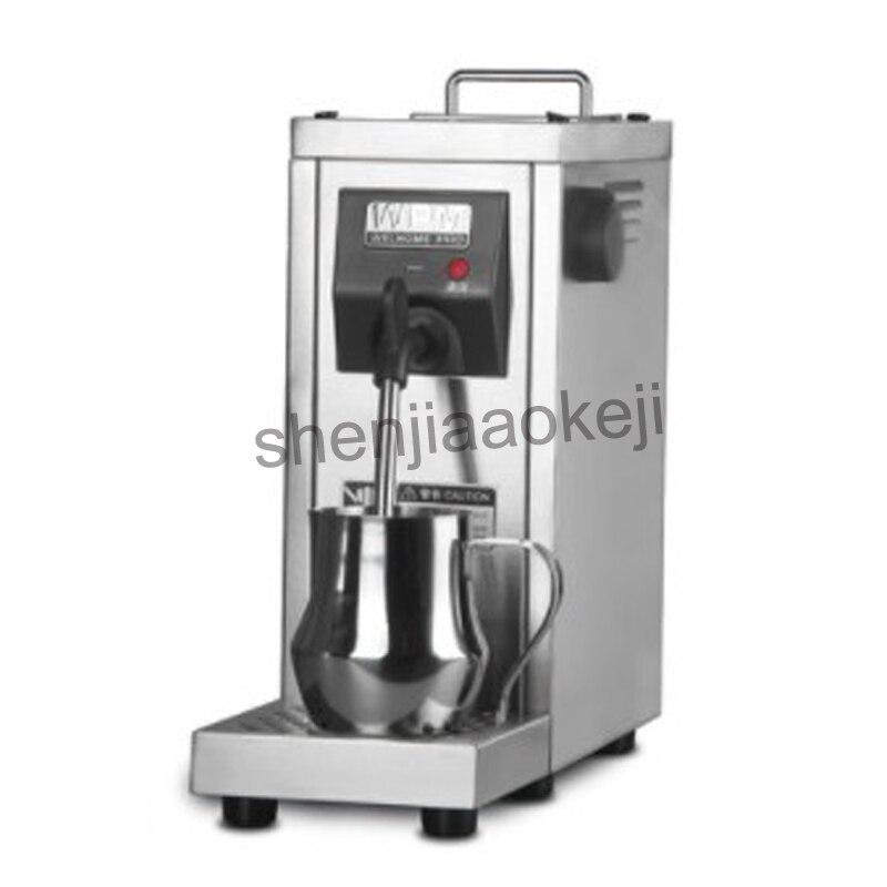 Kommerziellen Professionelle pumpe druck Milchaufschäumer/Voll automatische milch dampfer kaffee edelstahl-düse edelstahl MilkFoam Maschine