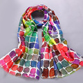 Fashion Women Wool Scarf Winter Designer Scarf Wool Print Floral Women Scarf Long Luxury Brand Lady Scarves 195*70