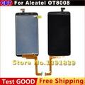 Оригинал Alcatel OT8008 ЖК-Дисплей + Сенсорный Экран Для Alcatel OT8008 OT-8008A 8008 W 8008D 8008X8008 + Бесплатная Доставка