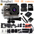 """Action Camera 4K 24fps wifi 2.0""""Screen 170 Angles  Adjustable Extreme go pro style Sports Camera go waterproof 30m pro camera"""