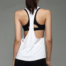 Русалка кривой сексуальный женский спортивный жилет для тренировок безрукавки для тренировок свободные дышащие Йога фитнес-футболки