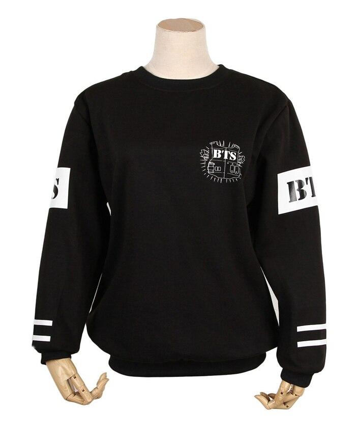 Kpop children BTS Bangtan collective autumn long-sleeved t k-pop BTS autumn long sleeve with hood Outerwears coat hoodies