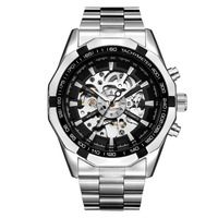 Brand Winner Mens Watches Top Luxury Fashion Skeleton Clock Men Sport Watch Automatic Mechanical Watches Relogio