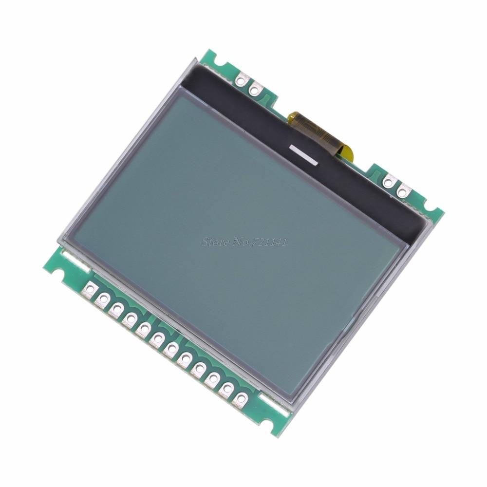 12864 128X64 serie SPI gráfico COG LCD módulo pantalla incorporada LCM El CCRSM Khan M5 Scher-Khan M5 Magicar 5 llavero LCD sistema de alarma coche dos vías nuevo control remoto/transmisor fm
