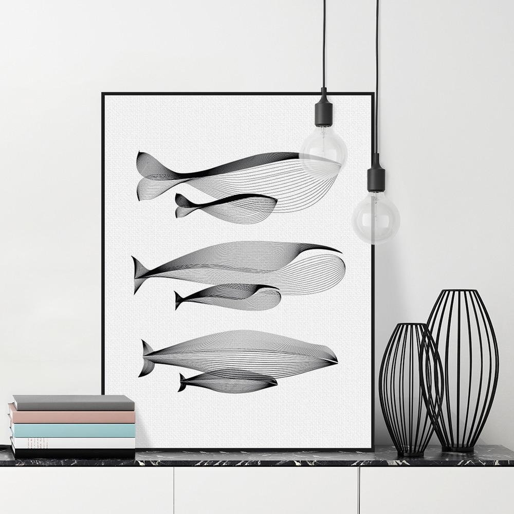 Online kaufen großhandel schwarz weiß linie kunst aus china ...