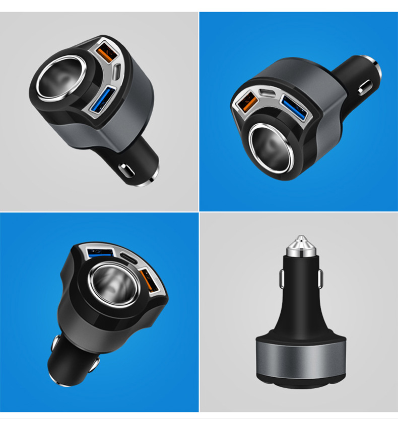 QC 3.0 USB Type C Car Charger (15)
