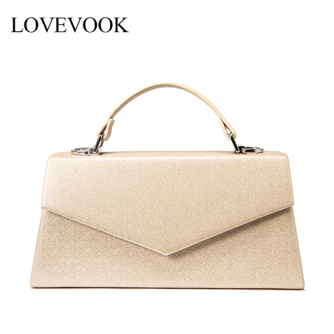 LOVEVOOK Women handbag top-handle high quality PU leather crossbody messenger bag female luxury designer evening bags for ladies Pakistan
