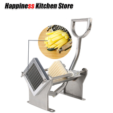 Kitchen Tools Manual French Fry Cutters  Potato Chips Slicers Stainless Steel Vegetable Fruit +3 Blades Spiral Cutter