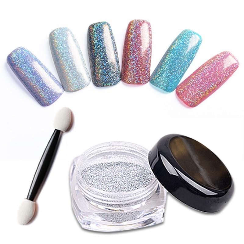 Coscelia Nail Polish 12Pcs Big Glitter Nail Art Kit Acrylic UV ...