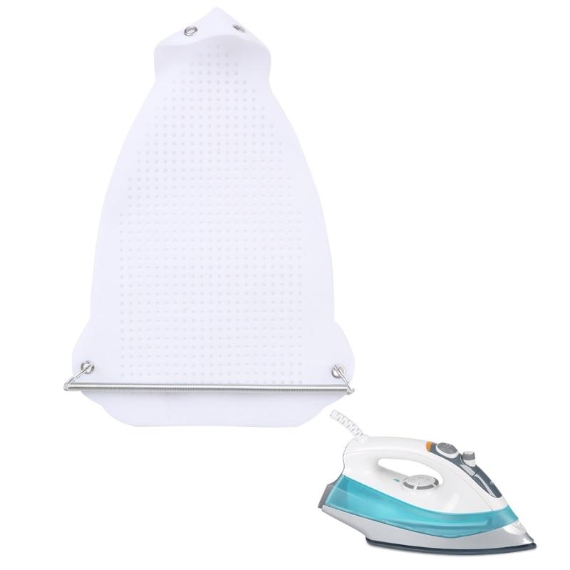 Iron Shoe Cover Ironing Aid Board Protect PTFE Fabrics Cloth Heat Easy Fast цена
