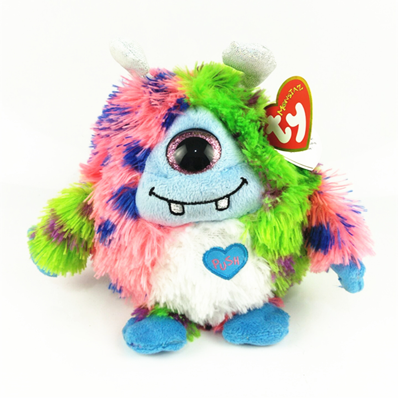 a1929cbefbd Ty Beanie Boos 6 quot  15cm Monstaz Marty Plush Regular Big-eyed Stuffed  Animal Rabbit