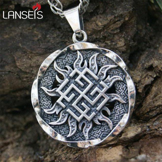 10pcs Big Svarog Slavic Pendant Ancient Slavic Amulet Slavic Symbol
