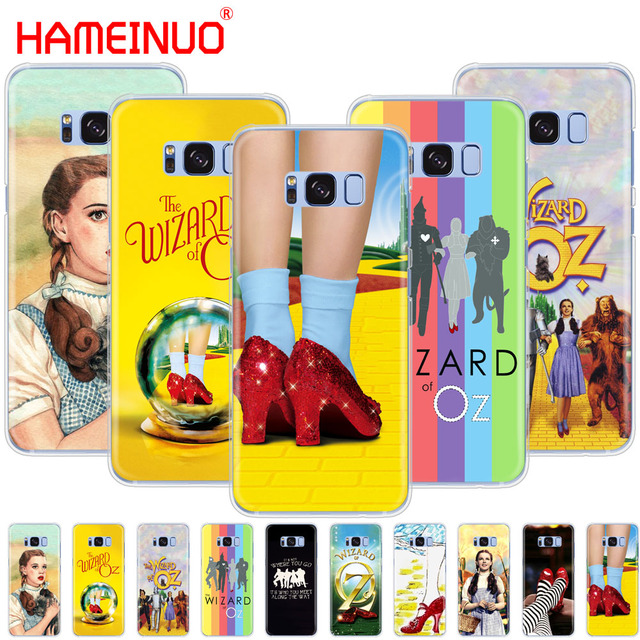 separation shoes 27334 93929 US $1.64 34% OFF|HAMEINUO The Wizard of OZ fairy tale cell phone case cover  for Samsung Galaxy S9 S7 edge PLUS S8 S6 S5 S4 S3 MINI-in Half-wrapped ...