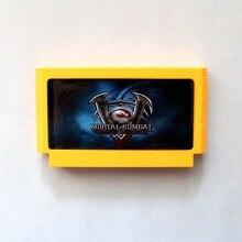 Mortal Kombat 60 Pinos 8 Bit Game Card Frete Grátis!
