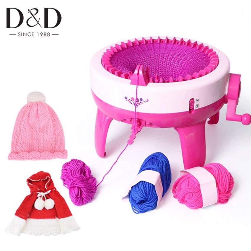 40 позиций иглы большая рука Вязание машины ткацкий станок вязать для Scraf Hat Дети Обучающие игрушки обучения