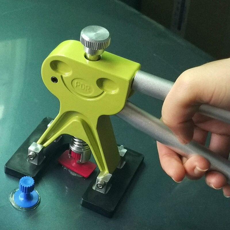 PDR инструменты для удаления вмятин безболезненный набор инструментов для удаления вмятин набор инструментов для ремонта автомобиля отражатель вмятин Съемник присоски клеевые вкладки - 5