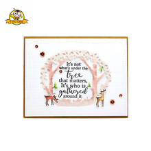 Words Clear stamp Seal Silicone Stamp Transparent Scrapbooking Album Sheets Card Die Cut