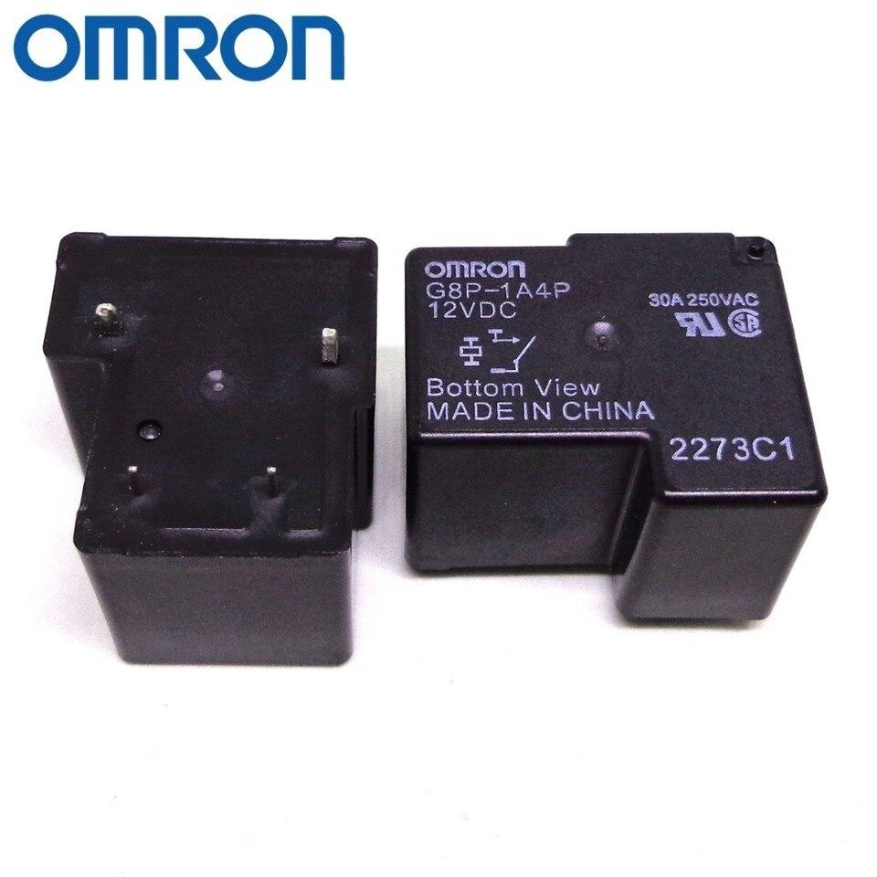 1pcs NEW  4pins 12V G8P-1A4P-12VDC 30A OMRON Relay