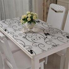 Top Qualität Glas Tabelle Transparent Tuch Wasserdicht Ölbeständiges Nicht Waschen Kunststoff Samt Anti Heißen Kaffee Tischdecke