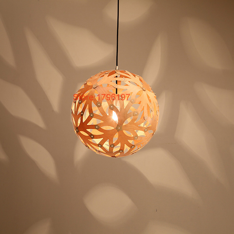 Dia 45cm big size wood pendant light handmade round global hanging dia 45cm big size wood pendant light handmade round global hanging lamp for home decoration modern beautiful lamp e27 holder in pendant lights from lights mozeypictures Choice Image