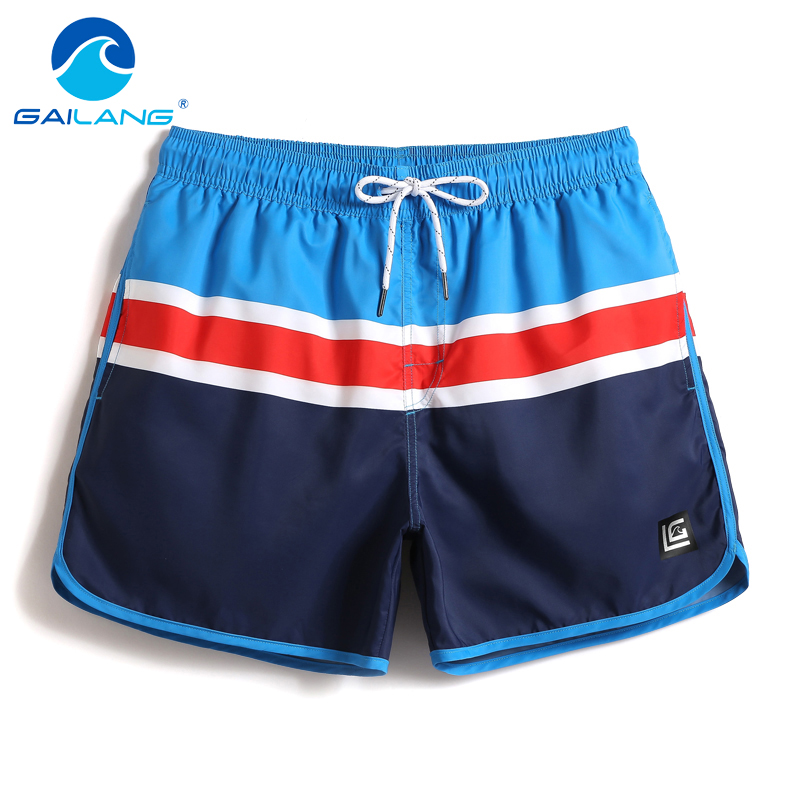 Gailang Brand Men Beach Board Shorts Trunks Bermuda Mens Casual Cargo Swimwear Swimsuits Male Casual Shorts Quick Dry Boxers Gay