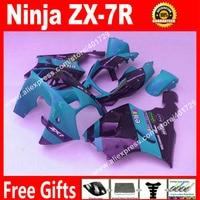 Brand new motorcycle fairing kit for Kawasaki Ninja ZX7R 1996 2003 ZX 7R 96 97 99 00 01 02 03 colorful bodyworks fairings