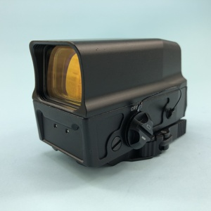 Image 3 - UH 1 Optical Holographic Sight Red Dot Sight Reflex Sight for 20mm Rail Integral Weaver with USB Charge Airsoft Hunting Rifle
