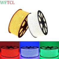 220V 110V LED Strip 5050 100m IP67 Waterproof RGB Dual Color Rope lighting for outdoor