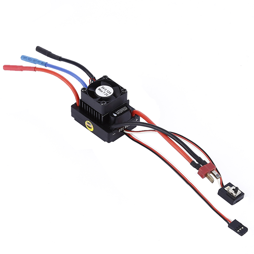 Jual 1 10 Rc Racing Car Off Road Truck 60A Waterproof Motor Brushless Esc Electric Speed Controller Intl Branded Original