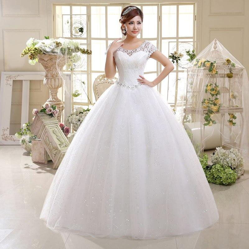 QQC HS587 Factory direct supply of new wedding dress 2016 wedding bride lace strap slim code