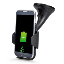 Universal Qi Fast Wireless Car Charger 2 in 1 phone Holder Charging Stand For iPhone X 8 Plus Samsung S9 S8 Plus Note 8 S7 edge fast car wireless charger cup qi charging stand for iphone x 8 plus samsung s9 8 7 6edge sony lg mix usb induction charge holder