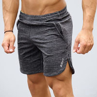 2017 Summer New Mens Fitness Shorts Fashion Leisure Gyms Bodybuilding Workout Male Calf Length Short Pants