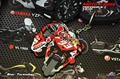 Iwasaki motorcycle keys Marquez red ants 2015 93 key ring PVC rubber key button