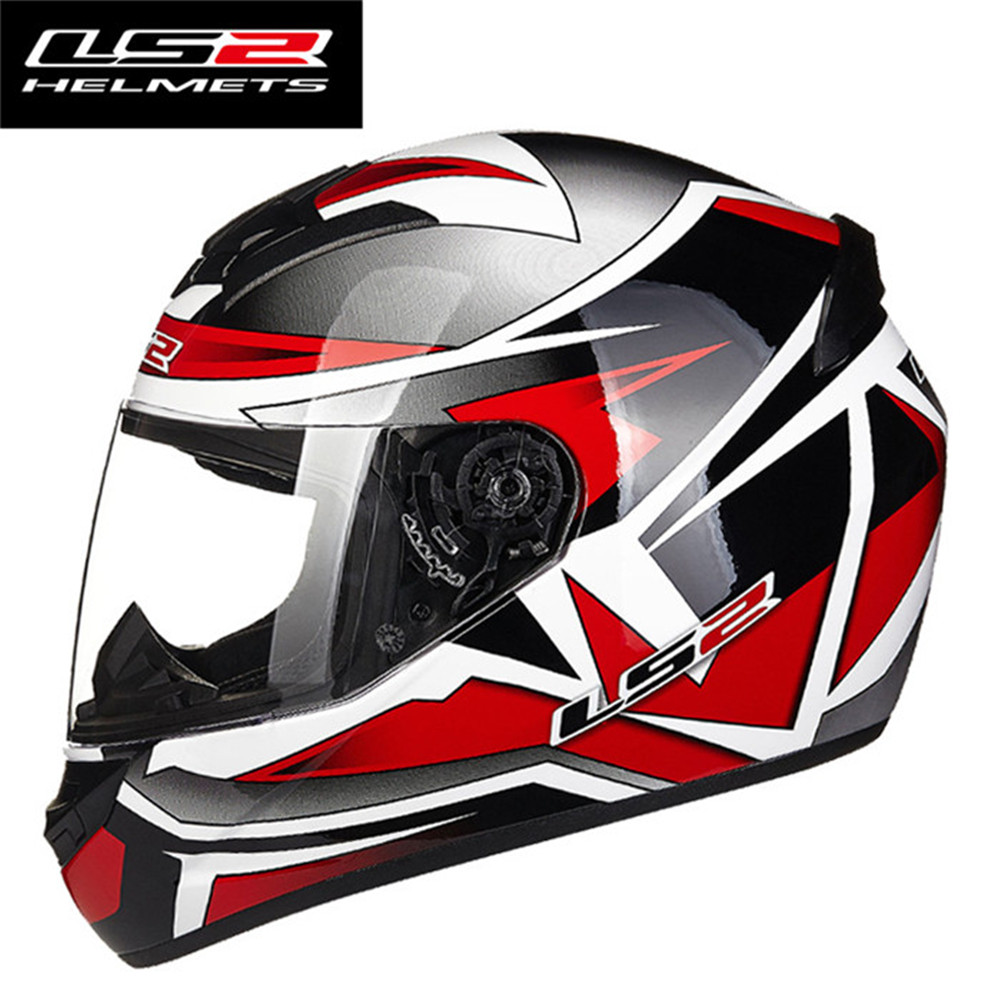 LS2 FF352 Rookie Motorcycle Helmet Capacetes de Motociclista Cascos para Moto все цены