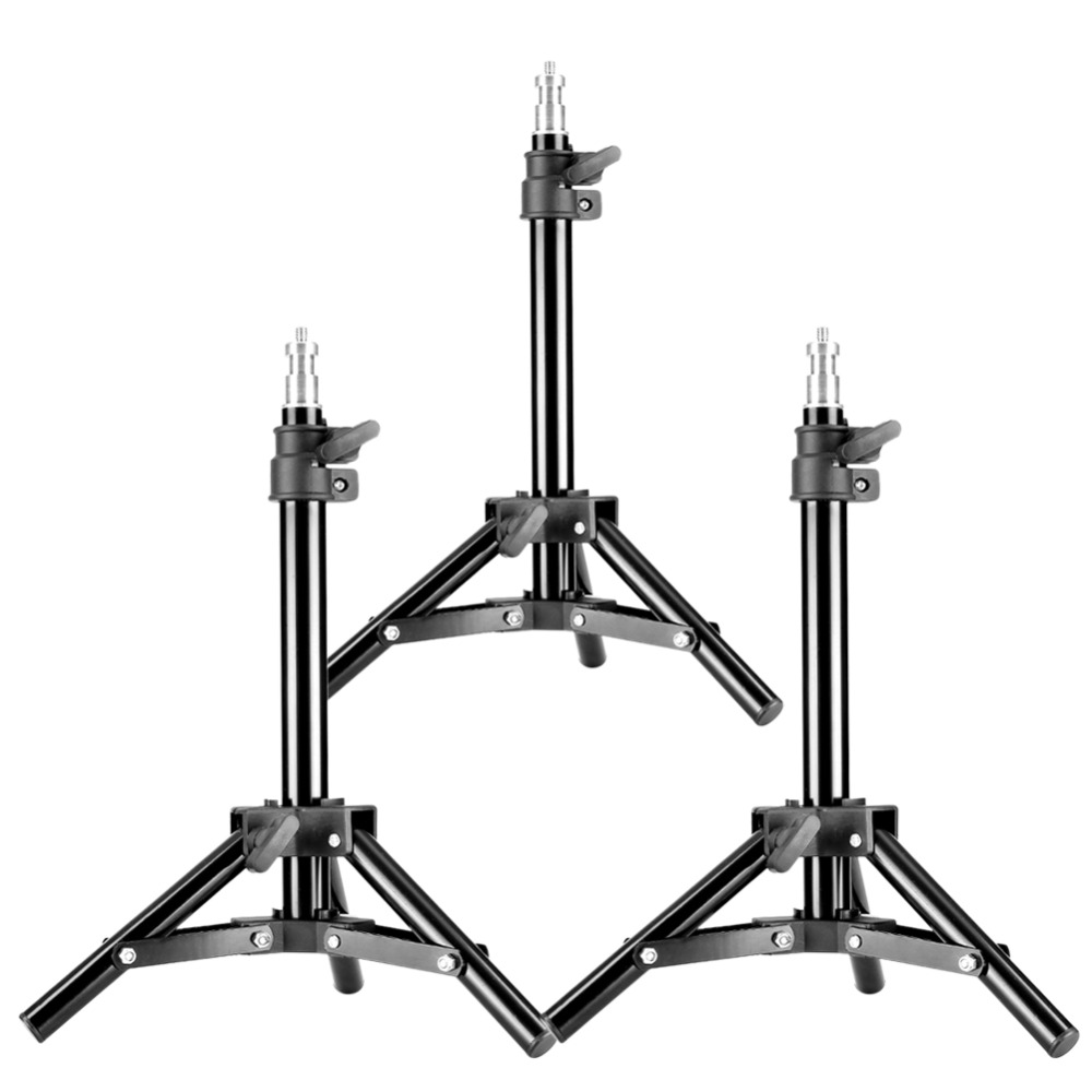 Neewer Set Of 3 Mini Aluminum Photography Light Stands With 32