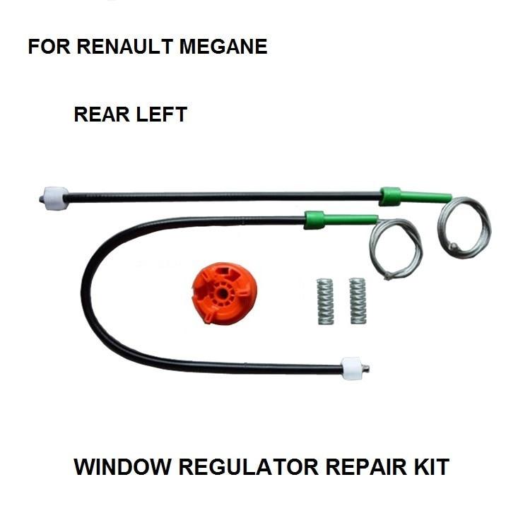 WINDOW REGULATOR KIT FOR RENAULT MEGANE II CABRIOLET CONVERTIBLE WINDOW REGULATOR REPAIR KIT REAR-LEFT 2002-2016
