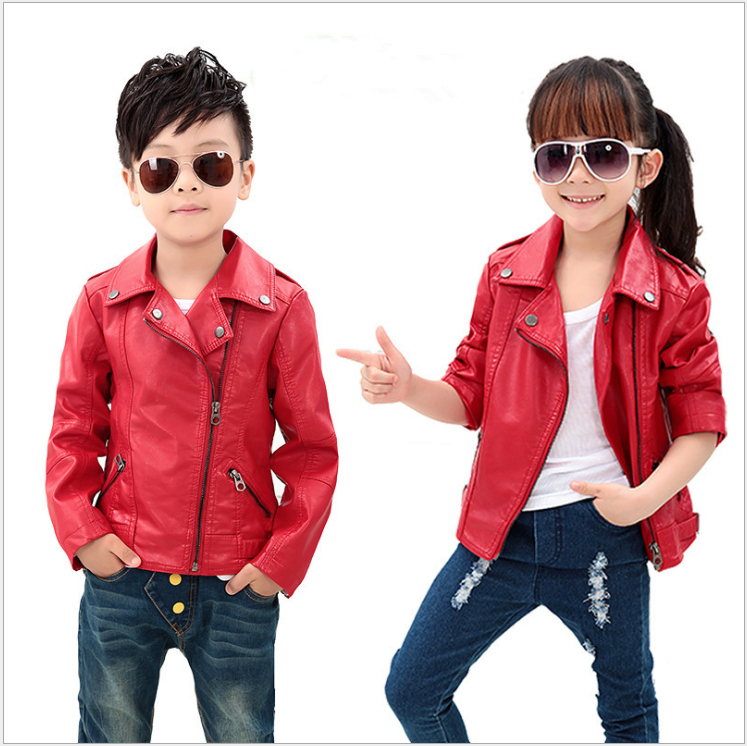 Kids Leather Jackets Girls - Jacket