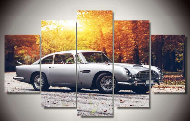 Attractive Framed Printed Car Aston Martin Group Painting Childrenu0027s Room Decor Print  Poster Picture Canvas Decoration Free