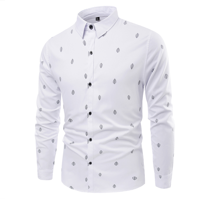 2016 Новое Прибытие мужская рубашка С Длинным Рукавом Мужская Платье Рубашки Марка Повседневная Мода Бизнес Стиль Рубашки Хлопка Плюс размер