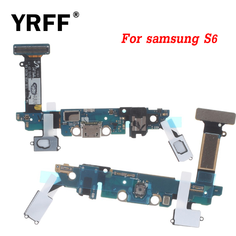 New Dock Connector Charger <font><b>Board</b></font> USB Charging Port Audio Jack Flex Cable Ribbon For <font><b>Samsung</b></font> <font><b>Galaxy</b></font> <font><b>S6</b></font> G9200 G920A G920V G920F image