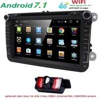 Quad Core 1024 600 8 2Din Car DVD For VW Volkswagen GPS Navigation Radio Rds Video