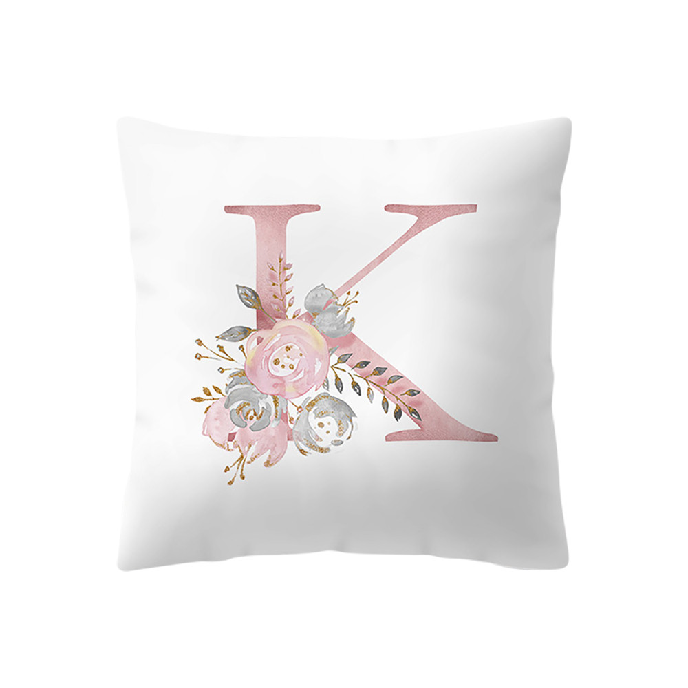 Cuscini 45 X 45.Valentine S Day Print Cushion Cover Pink Color 45x45 Cm Cuscini