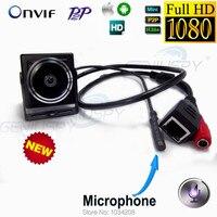 2Mp 1080 P Ip Caméra Hd 1.78mm Fisheye 180 Degrés Mini Ip Cam Secrète Réseau Onvif P2P Miniature Ip Caméra Grand Angle Onvif